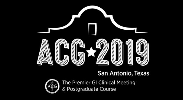 ACG 2019 – American College of Gastroenterology Annual Scientific Meeting
